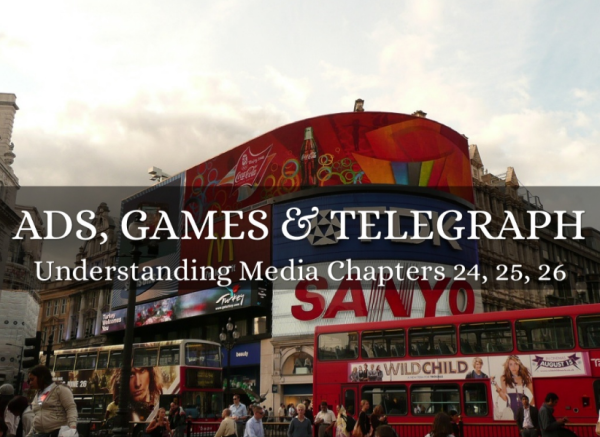 Ads, Games & Telegraph on Haiku Deck